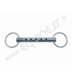 2 anneaux flute rond creux